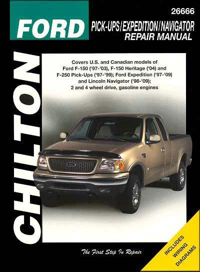 Ford F-150, F-250, Expedition, Lincoln Navigator 1997 - 2003