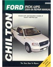 Ford F150 Pickups 2004 - 2006 Chilton Owners Service & Repair Manual