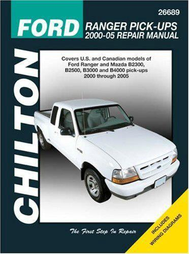 Ford Ranger (Courier) & Mazda B Series Pick-ups 2000 - 2005 Repair Manual - Front Cover