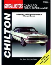 Chevrolet Camaro 1967 - 1981 Chilton Owners Service & Repair Manual