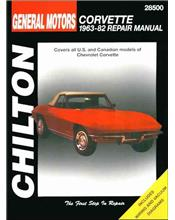 Chevrolet Corvette 1963 - 1982 Chilton Owners Service & Repair Manual