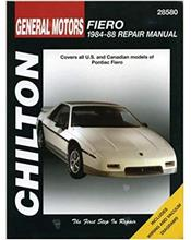 General Motors Fiero 1984 - 1988 Chilton Owners Service & Repair Manual