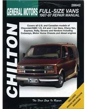 Chevrolet Full Size Vans 1987 - 1997 Chilton Owners Service & Repair Manual