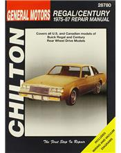 Buick Regal & Century 1975 - 1987 Chilton Owners Service & Repair Manual