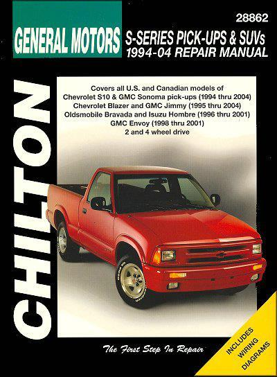 General Motors S-Series Pick-Ups and Suvs 1994-2004 - Front Cover
