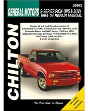 General Motors S-Series Pick-Ups and Suvs 1994-2004