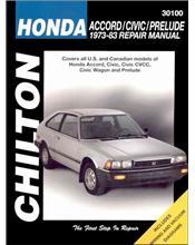 Honda Accord / Civic / Prelude 1973- 1983 Chilton Owners Service & Repair Manual