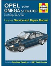 Opel Omega & Senator Petrol Nov 1986 - 1994 Haynes Repair Manual