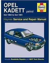 Opel Kadett Petrol Oct 1984 - Oct 1991 Haynes Repair Manual