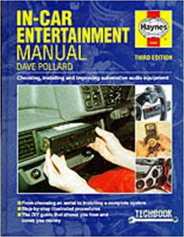 In-car Entertainment Manual (Haynes Techbooks) - Front Cover