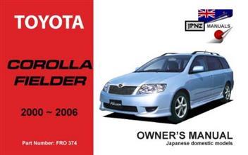2003 toyota corolla owners manual pdf