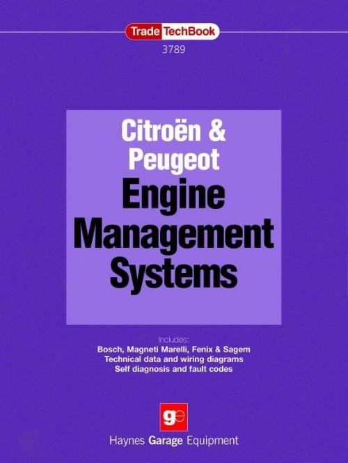 Citroen & Peugeot Engine Management Systems and Fuel Injection Techbook - Front Cover