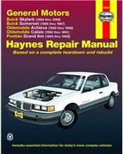 Buick Skylark 1985 - 1998 Haynes Owners Service & Repair Manual