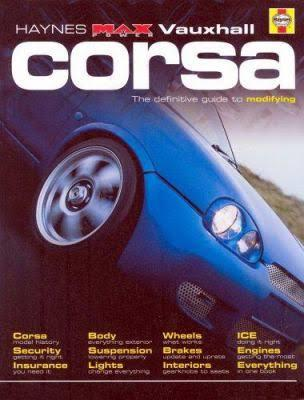 Haynes Max Power Vauxhall Corsa - Front Cover