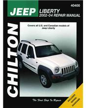 Jeep Liberty (Cherokee) 2002 - 2004 Chilton Owners Service & Repair Manual