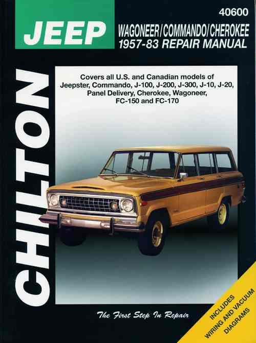 Jeep Wagoneer / Commando / Cherokee 1957 - 1983 - Front Cover