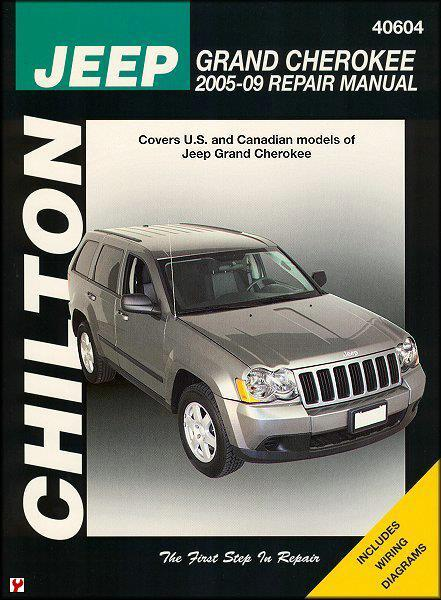 Jeep Grand Cherokee 2005 - 2009 Chilton Owners Service & Repair Manual - Front Cover
