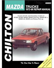 Mazda B-series Pick-ups 1972 - 1986 Chilton Owners Service & Repair Manual