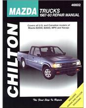 Mazda Trucks, B2200, B2600, Navajo & MPV Petrol 1987 - 1993