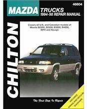 Mazda B2300, B2500, B3000, B4000, MPV & Navajo 1994 - 1998