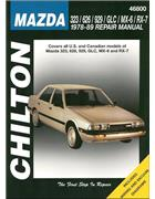 Mazda 323/626/929/GLC/MX-6/RX-7 1978 - 1989 Repair Manual