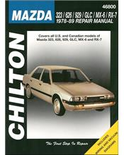 Mazda 323/626/929/GLC/MX-6/RX-7 1978 - 1989 Repair Manual