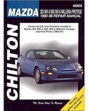 Mazda 323, MX-3, 626, MX-6, Millenia & Protege 1990 - 1998 Repair Manual