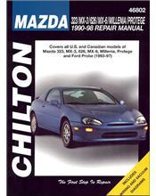 Mazda 323, MX-3, 626, MX-6, Millenia & Protege 1990 - 1998 Repair Manual
