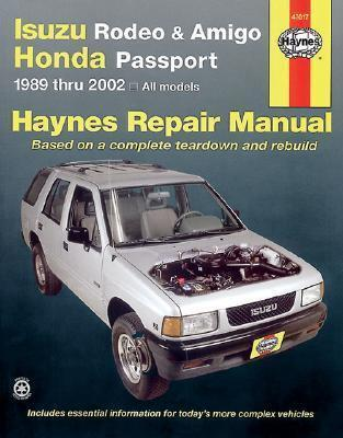 Isuzu Rodeo & Amigo / Honda Passport 1989 - 2002 - Front Cover