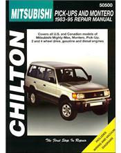 Mitsubishi Pick Up & Montero 1983 - 1995 Chilton Owners Service & Repair Manual