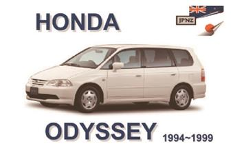 honda odyssey 1994 - 1999 owners manual - front cover
