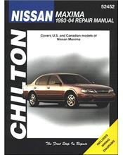 Nissan Maxima 1993 - 2004 Chilton Owners Service & Repair Manual