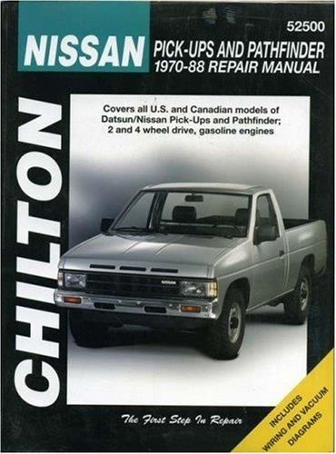Nissan / Datsun Pick-Up Trucks, Pathfinder 1970 - 1988