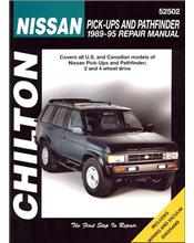 Nissan Pick-ups & Pathfinder 1989 - 1995 Chilton Owners Service & Repair Manual