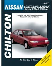 Nissan Sentra, Pulsar & NX 1982 - 1996 Repair Manual