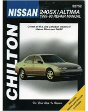 Nissan 240SX & Altima 1993 - 1998 Chilton Owners Service & Repair Manual