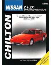 Datsun / Nissan Z & ZX 1970 - 1988 Chilton Owners Service & Repair Manual