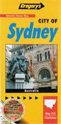 Sydney & North Sydney City - Front Cover