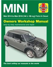 Mini (Petrol & Diesel) 2014 - 2018 Haynes Owners Service & Repair Manual