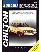 Subaru Brat, ff-1, 1300, 1400, 1600 & 1800 1970 - 1984