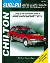 Subaru Coupes / Sedans / Wagons 1985 - 1996