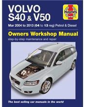 Volvo S40 & V50 2004-2013 Repair Manual