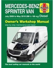 Mercedes-Benz Sprinter Diesel Van (W906) 2009-2018 Repair Manual
