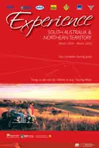 AAA Experience South Australia & Northern Territory 2004 / 2005 - Front Cover