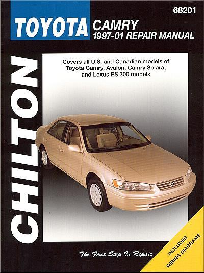 Toyota Camry, Avalon, Solara, Lexus ES300 1997 - 2001 Chilton Owners Service & R - Front Cover