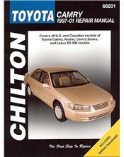 Toyota Camry, Avalon, Solara, Lexus ES300 1997 - 2001 Chilton Owners Service & R