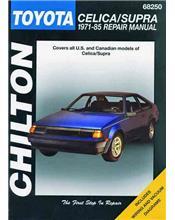 Toyota Celica / Supra 1971 - 1985 Chilton Owners Service & Repair Manual