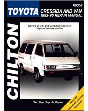 Toyota Cressida and Van 1983 - 1990 Chilton Owners Service & Repair Manual