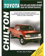 Toyota Pick-Ups, Land Cruiser & 4Runner 1989 - 1996