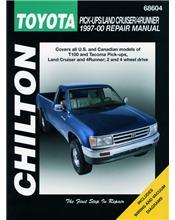 Toyota Pick-Ups/Land Cruiser/4Runner 1997 - 2000 Repair Manual
